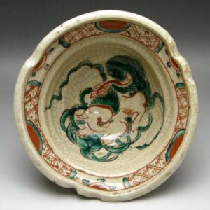 Inuyama bowl with lion motif